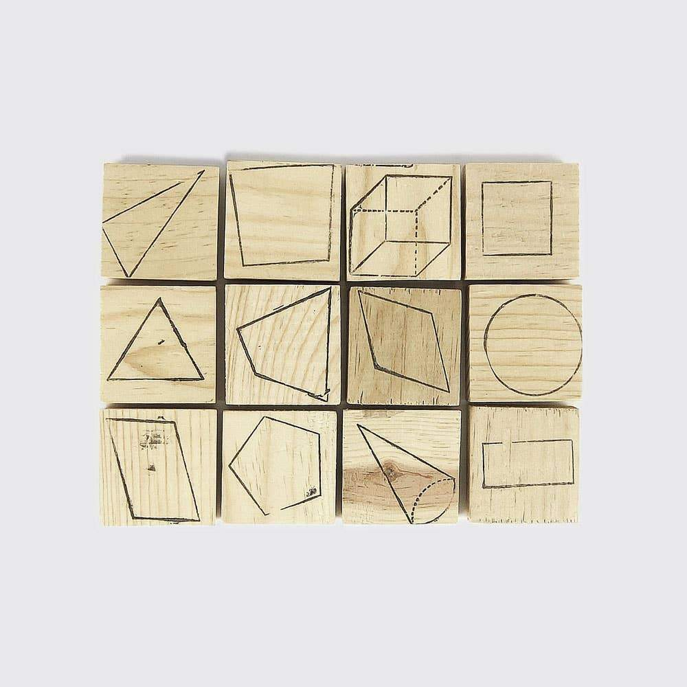 Geometry Stamps - Single - Toy