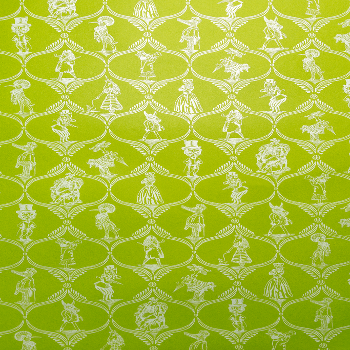 Green Menagerie Gift Wrap - Single Sheet - Gift