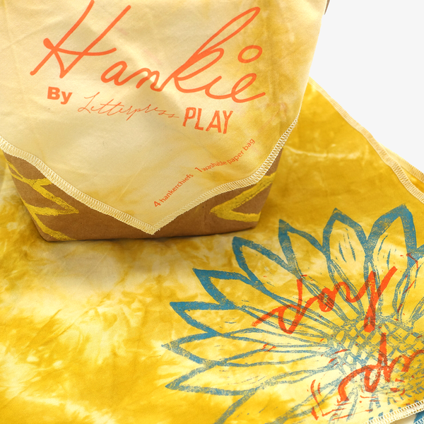 Hankies - Sunflower Organic Cotton Hankies Set - Hankies