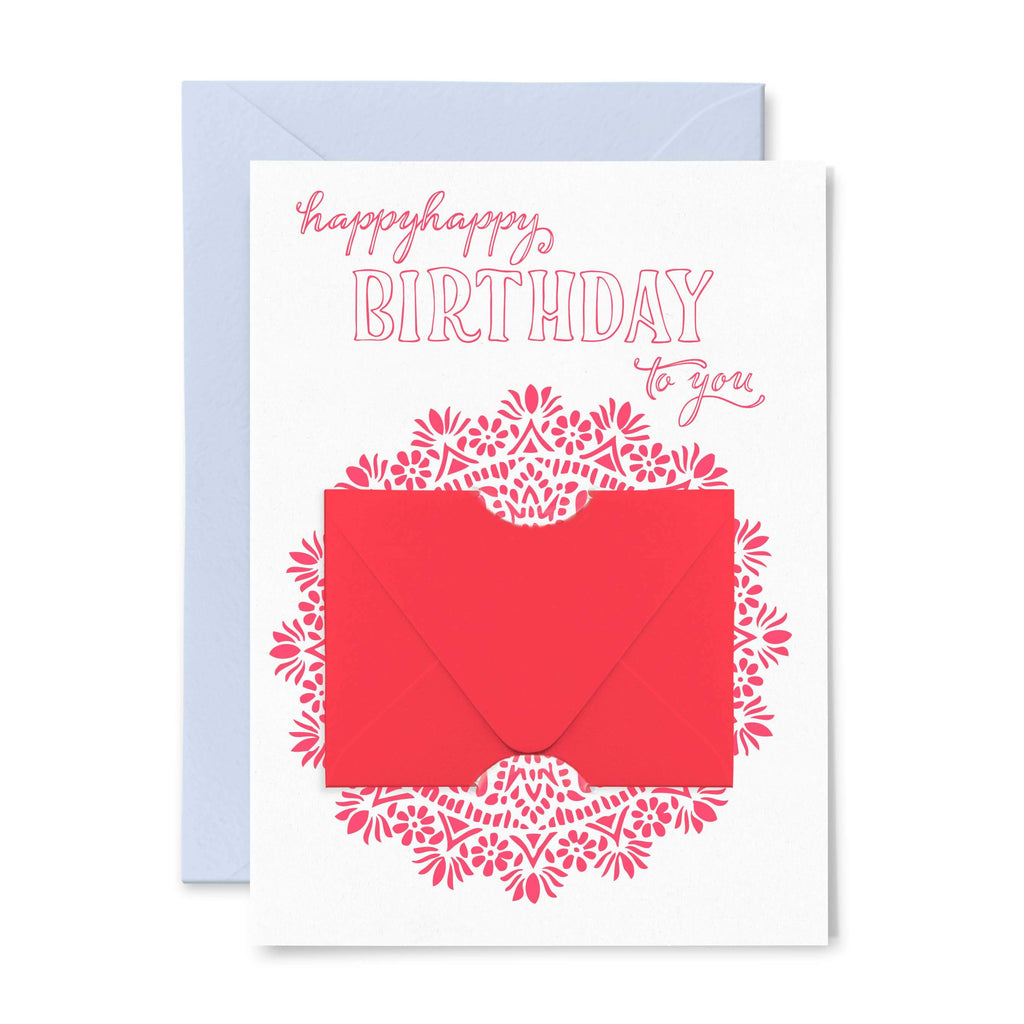 Happy Happy Birthday Card - Card