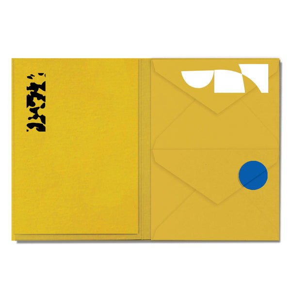 Maza Letterquette - Envelopes and Writing Sheets - Set of 12 - Open View