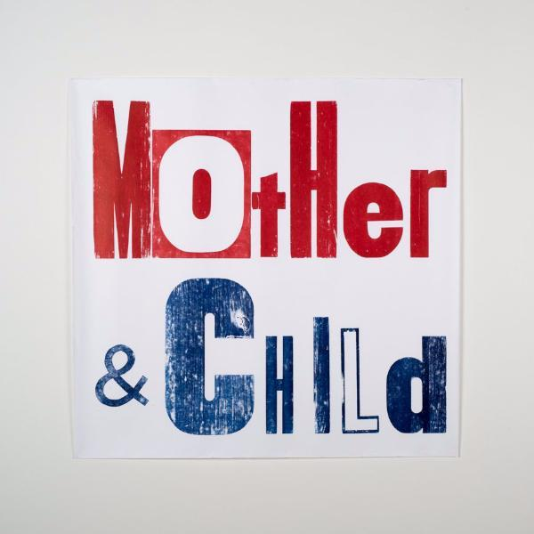 Posters for a Cause - Mother & Child - Poster