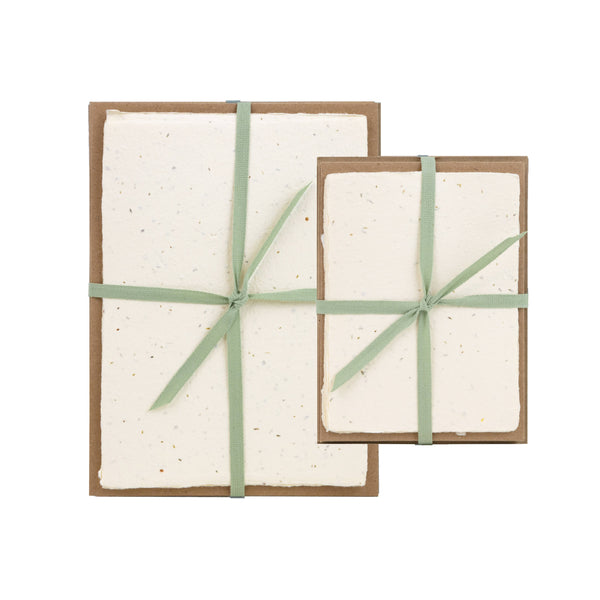 Seed Handmade Paper Pack - 5 x 7 - Writing and