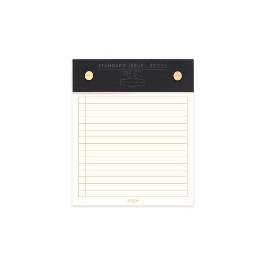 Standard Issue Post Bound Note Pad - Black - Writing and