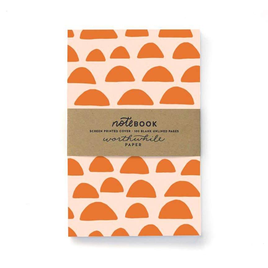 Sunrise Pattern Notebook - Writing and Correspondence