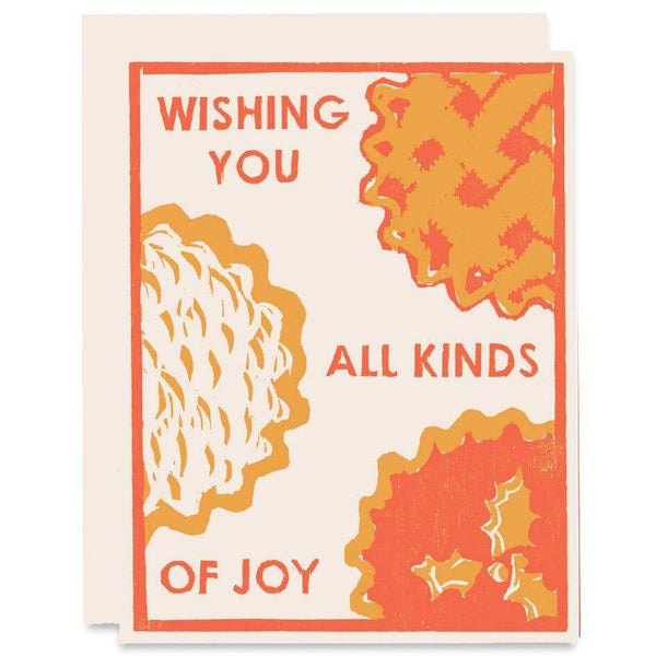 Wishing You All Kind Winter Holidays Card - Card