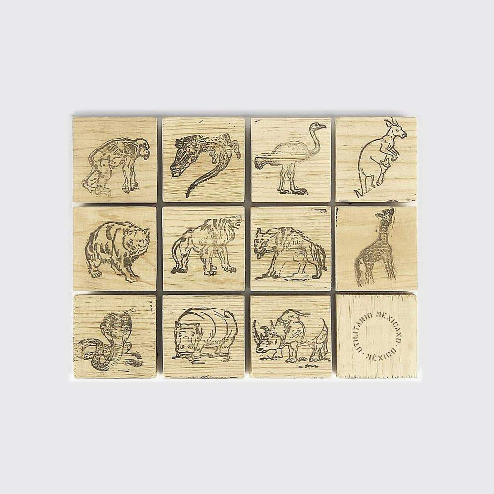 Zoo Stamp - Single - Toy