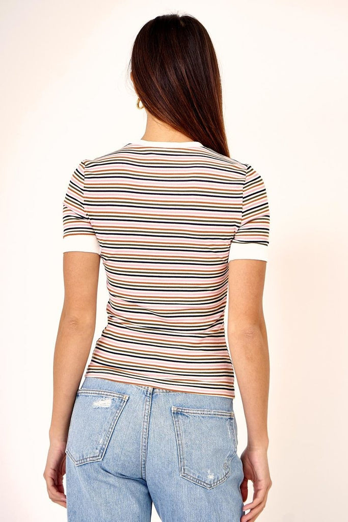 49c2ef3cec80 Spring Fling Striped Tee – The Styled Space Boutique