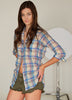 # 17W Sagaponack Pale Plaid Shirt