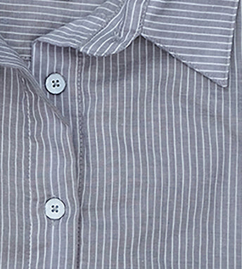 "#65W SAGAPONACK  ""GREY PIN STRIPE"""