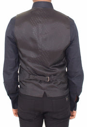 Dolce & Gabbana Black Silk Wool Dress Vest Blazer Jacket - Azura Runway