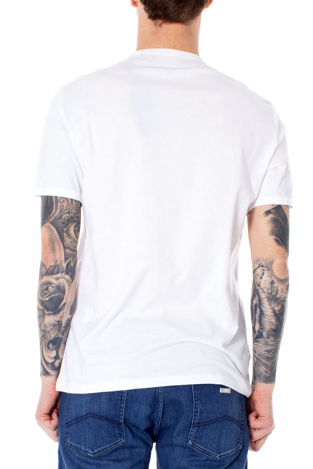 Armani Exchange White Men's T-Shirts - Azura Runway