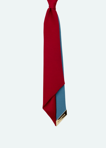 womens red necktie