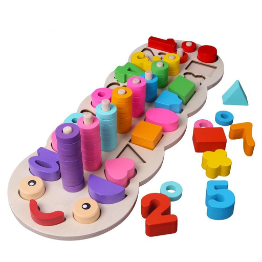 Montessori Digital Shape Pairing Math Toy