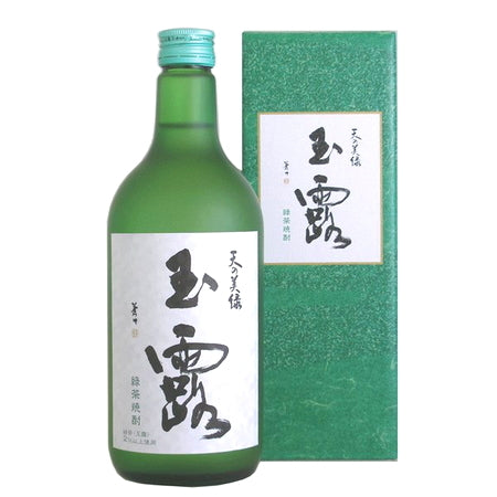 Kitaya Syocyu TennoMiryoku Gyokuro green tea 25% 720ml 喜多屋 焼酎 天の美緑 玉露 箱入 25度 720ml