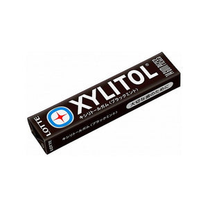 XYLITOL black mint gum 14 tablets キシリトールガム ブラックミント 14粒