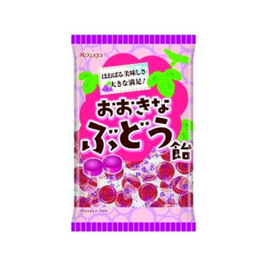 Ookina Budo Ame Grape flavor Candy 126g おおきなぶどう飴  126g