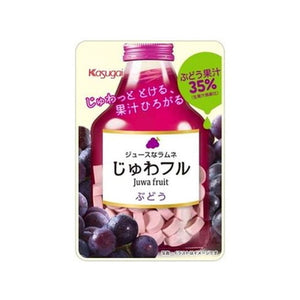 Juwa Fru grape tablets 25g じゅわフル ぶどう 25g