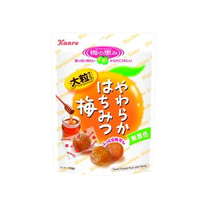 YAWARAKA HACHIMITSU UME Plams with honey 40g やわらかはちみつ梅  40g