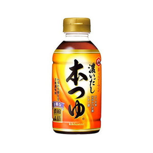 Dashi Hon tsuyu soup 300ml 【萬】濃いだし本つゆ 300ml