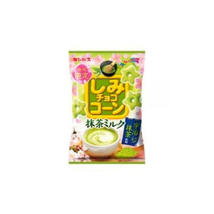 Shimi Choco Corn Macha and milk flavor snacks 55g しみチョココーン 抹茶ミルク 55g