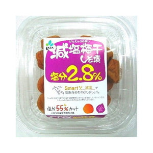 Low Sodium Umebosh with Shiso 110g 新進 減塩梅干しそ 110g