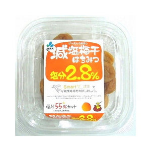 Low Sodium Umebosh with honey 110g 新進 減塩梅干はちみつ 110g