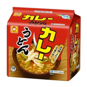 Marchan Curry Udon extra mild 100gx5packs マルちゃん カレーうどん甘口(袋5食)