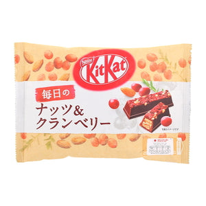 Nestle KitKat Daily Nuts&Cranberry Chocolate 109g ネスレ キットカット 毎日のナッツ&クランベリー109g