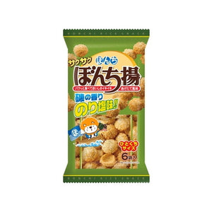 Bonchi Nori and salt flavor snacks 78g 6bags 6パックぼんち揚 のり塩味 78g