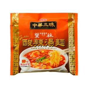 Myojo Chukazanmai Akasakaeirin  Hot and sour soup Ramen 103g 明星 中華三昧 赤坂榮林 酸辣湯麺 103g