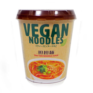 NewTouch Ts VEGAN Noodles Tan-tan noodle soup 67g ニュータッチ Tsヴィーガンヌードル担担麺 67g