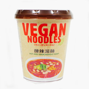 NewTouch Ts VEGAN Noodles Hot and sour noodle soup 66g ニュータッチ Tsヴィーガンヌードル酸辣湯麺 66g
