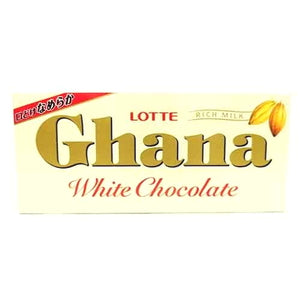 Lotte Ghana White Chocolate 45g ロッテ ガーナホワイト 45g