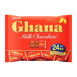 Lotte Ghana Milk Chocolate bag 96g ロッテ ガーナミルク袋 96g