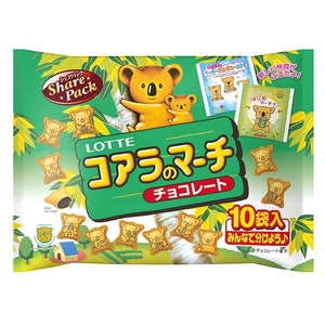 Lotte Koala's March Chocolate Sharing package 120g ロッテ コアラのマーチシェアパック 120g