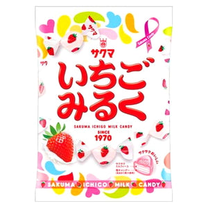 SAKUMA strawberry milk  Candy 100g サクマ いちごみるく 100g