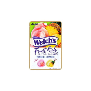 Welch`s Fruit Rich Tablets 28g ウェルチ フルーツリッチタブレット 28g