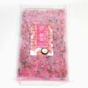 Salt Pickled Cherry Brossoms SAKURAGUMO 500g さくらの塩漬け 桜雲 500g