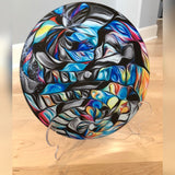 Cutting Board - Glass Round - print.direct, inc. of Taos