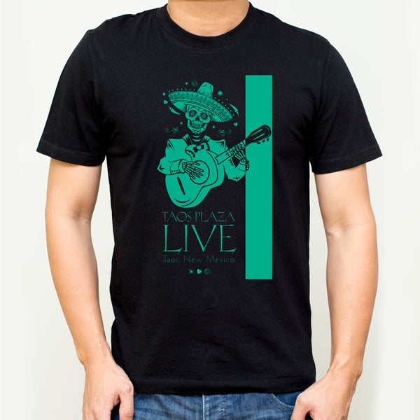 T-Shirt |  Taos Plaza Live | Short Sleeve - print.direct, inc. of Taos
