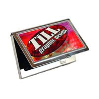 Business Card Metal Holder - print.direct, inc. of Taos