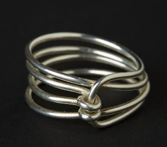 Knot Sterling Silver Ring