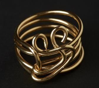 Crown 14k Gold Filled Ring
