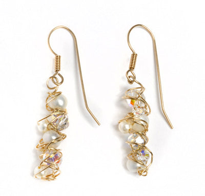Bridal Dangle Earrings
