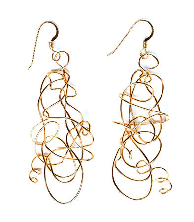 Sterling Silver or Gold Jubilicious Earrings