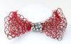 Red Bowtie with Swarovski Crystals