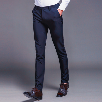 Men's Casual Straight Suit Pants 233