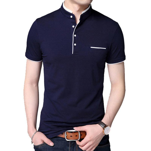 Men's business T-shirt