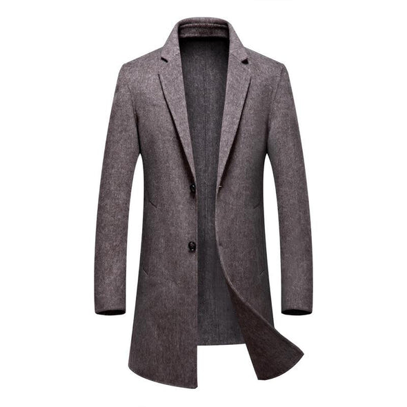 Men's Handmade cashmere coat
